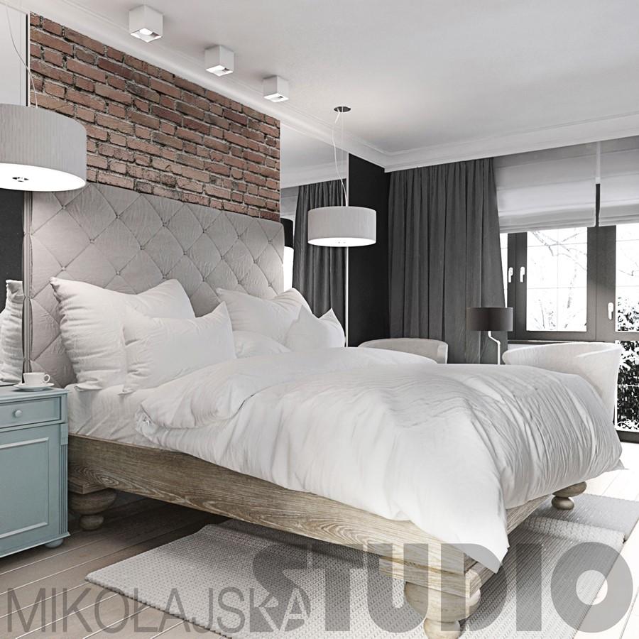 Sypialnia Cegla