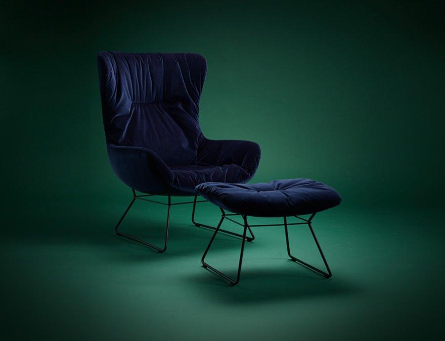 Fotel Leya Wingaback Chair - FreiFrau