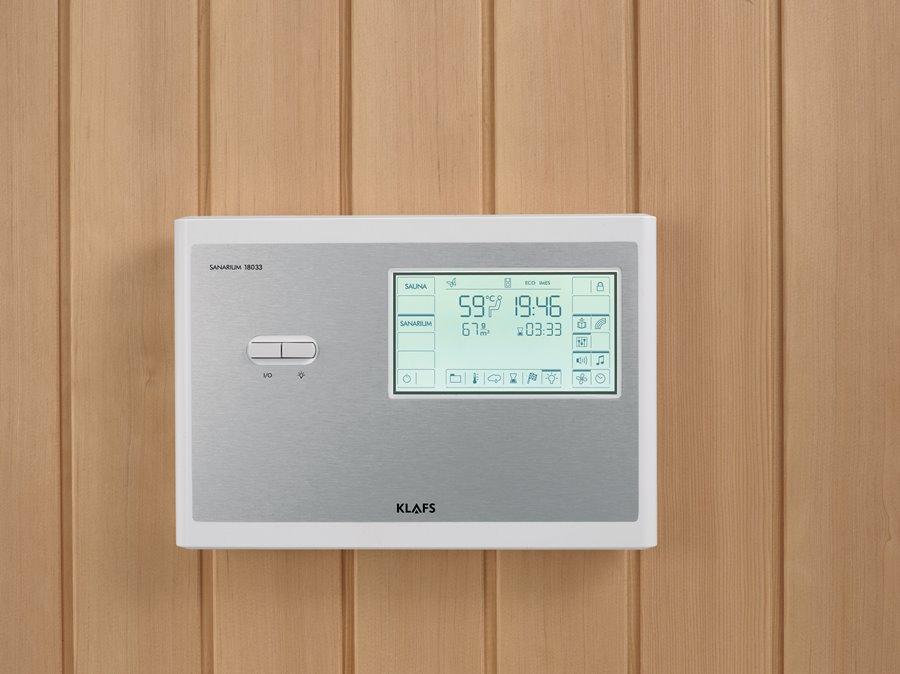 Inteligentny sterownik Sanarium Klafs - akcesoria do sauny