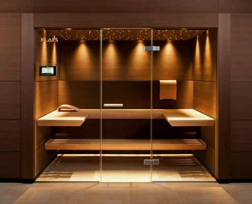 sauna w azience inspiracja homesquare. Black Bedroom Furniture Sets. Home Design Ideas