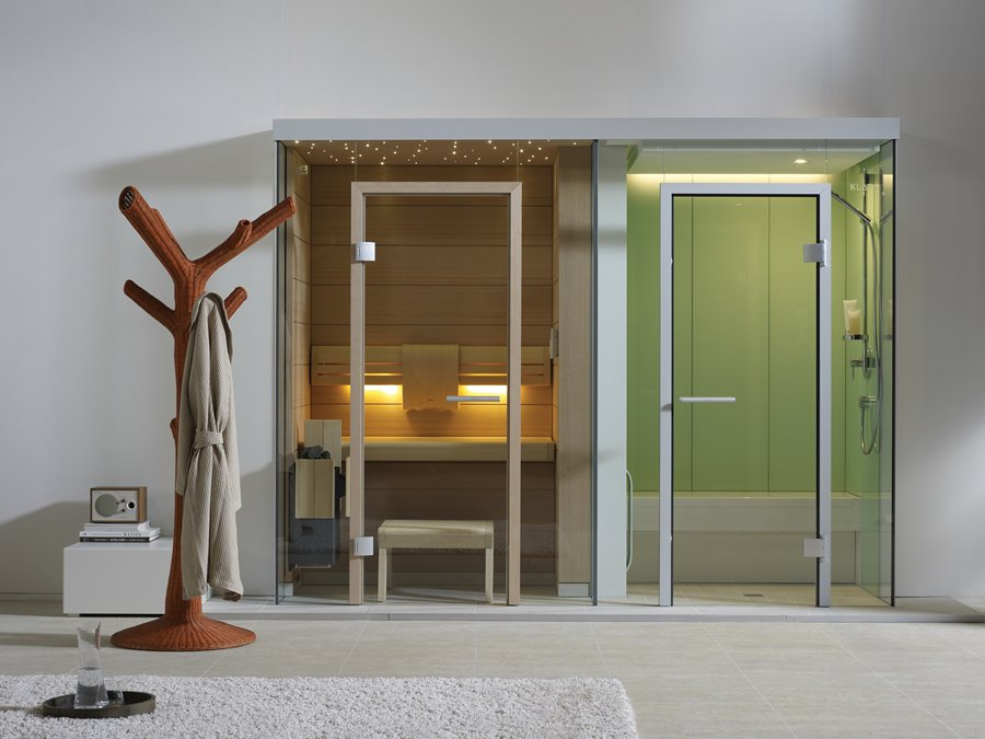 Jednoosobowa sauna Klafs - mała sauna