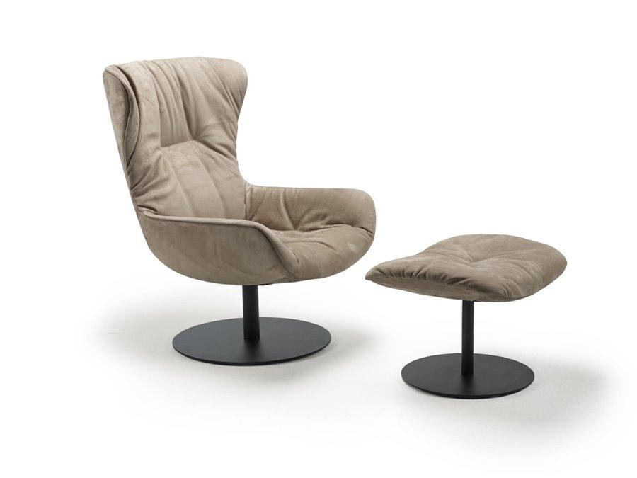 Leya Wingback Chair wersja obrotowa - FreiFrau