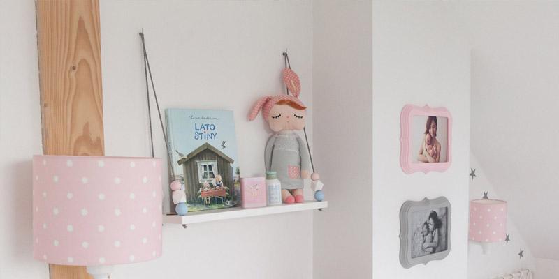 Półki wiszące dla dziewczynek HomeSquare