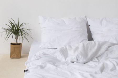 Poszewka na poduszkę HOP DESIGN – kolor biały