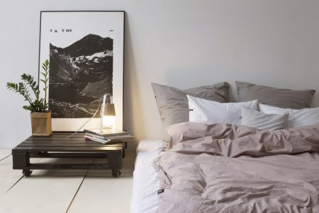 Poszewka na poduszkę HOP DESIGN – różowy