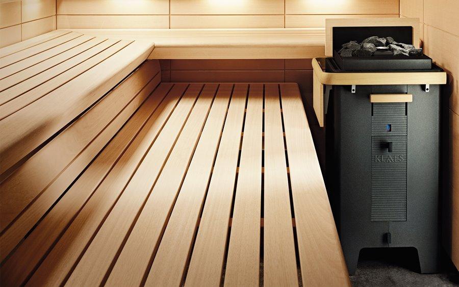 Sanarium piec MAJUS z funkcją Turbiheat - wyposażenie sauny
