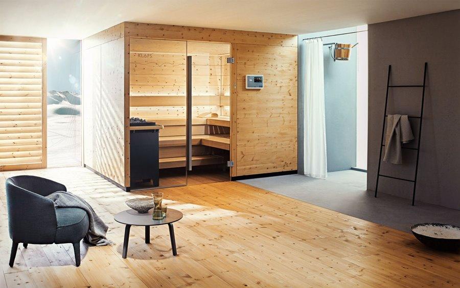Sauna Chalet Klafs - pokoje kąpielowe