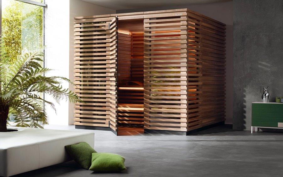 Sauna Matteo Thun Klafs - domow strefa wellness