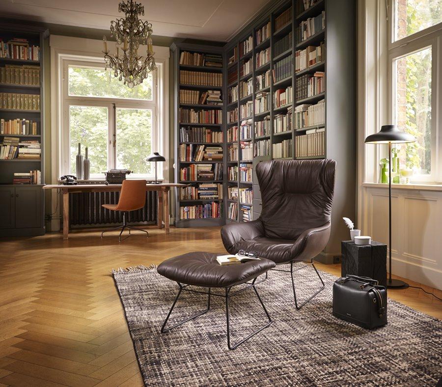 Stylowy mebel Leya Wingback Chair - FreiFrau