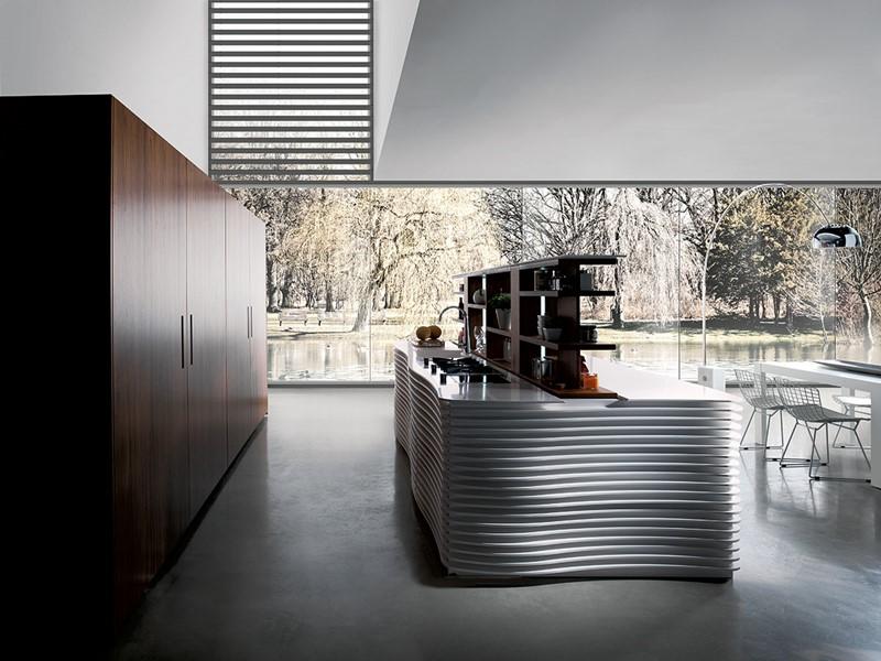 Designerskie meble kuchenne w nowoczesnym stylu - kuchnie włoskie