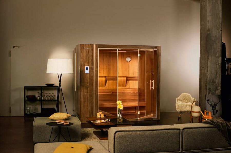 domowa sauna w szafie szafa z saun sauna s1 marki klafs artyku y homesquare. Black Bedroom Furniture Sets. Home Design Ideas