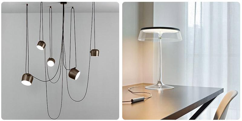Nowoczesne lampy Flos HomeSquare