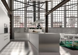 Nowoczesne meble w otwartej kuchni - TLK kitchens