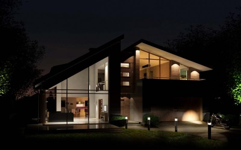Przestronne wnętrza w domu - A8 Architektura
