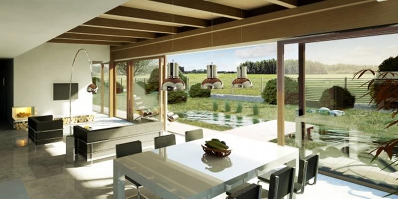 Przestronne wnętrza - A8 Architektura