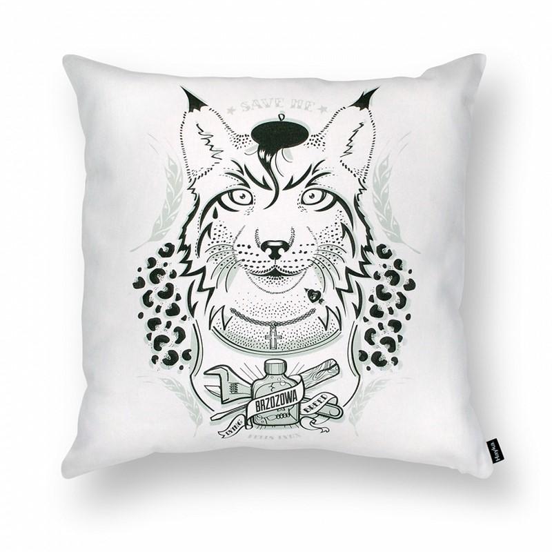 RYŚ - porządny chłop poduszka dekoracyjna 45x45 cm HomeSquare