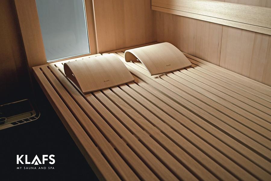 Sauna S1 Klafs wnętrze HomeSquare