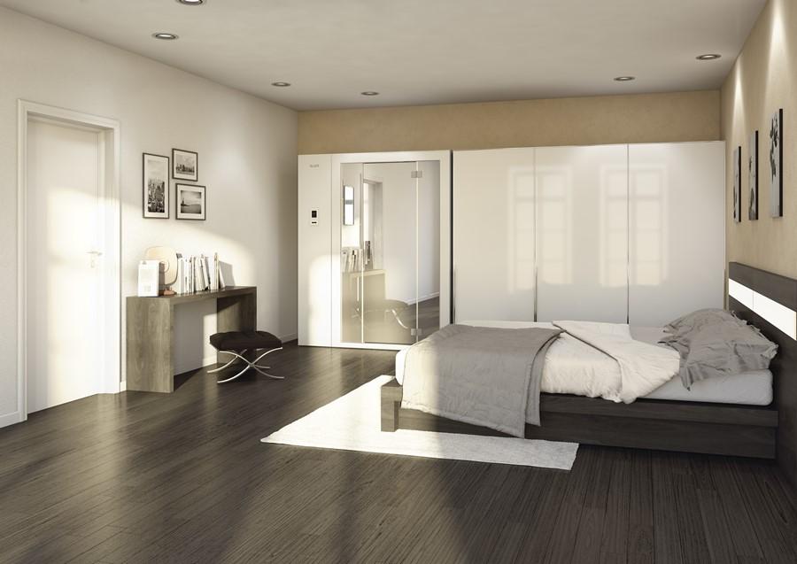 Domowa sauna w sypialni HomeSquare