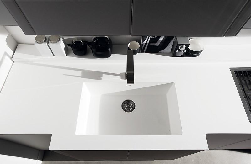w�oskie meble kuchenne w bieli architektura wnętrza