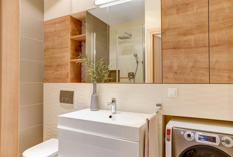 Zabudowa wnęki w łazience - wykańczanie wnętrz