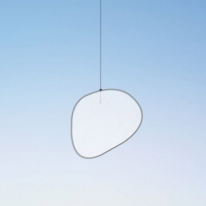 Żaluzja dekoracyjna Halo Mobileshadows Smarin - 88x68 cm