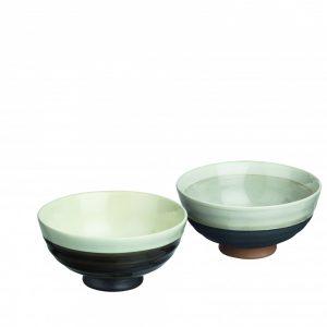 Zestaw 4 ceramicznych miseczek Sake