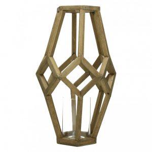 Drewniany lampion CUBIST L