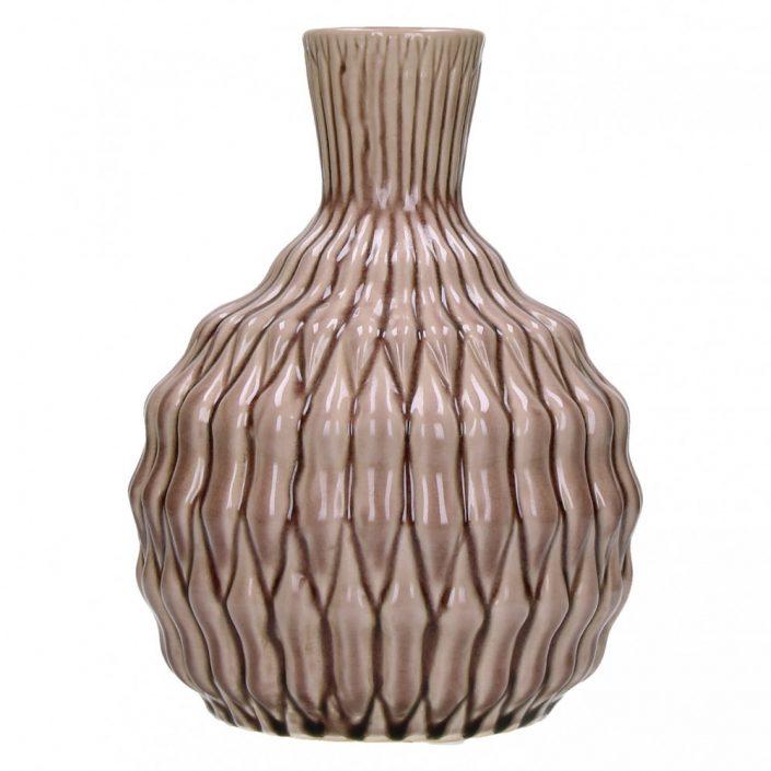Ozdobny wazon ceramiczny Akira różowy
