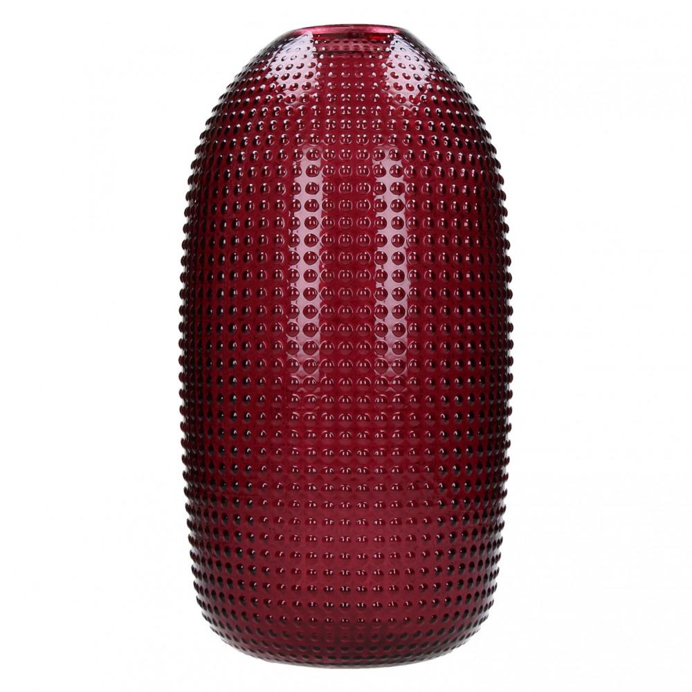 Burgundowy wazon dekoracyjny Pop Up