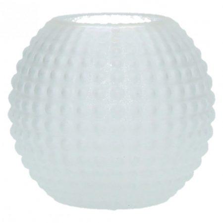 Kulisty wazon biały mat POP UP S