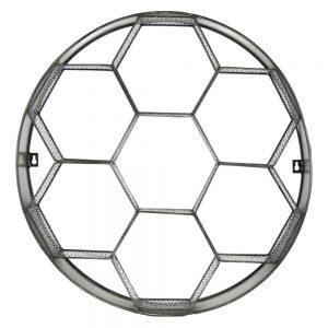 Metalowa półka Graphic heksagon 32503
