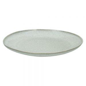 Ceramiczny talerzyk deserowy Terra biały