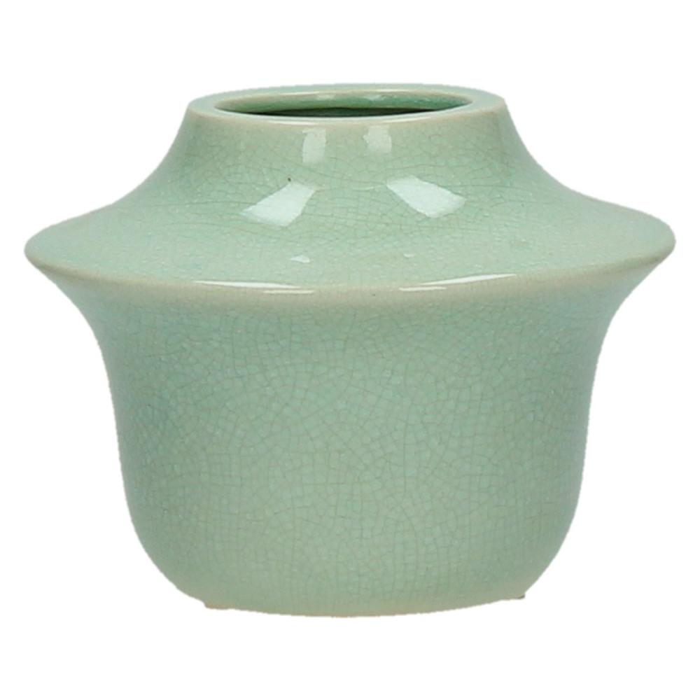 Dekoracyjny wazon ceramiczny YORI celadon S 15xH11,5cm
