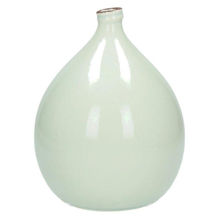 Wazon ceramiczny biały KIM średni M
