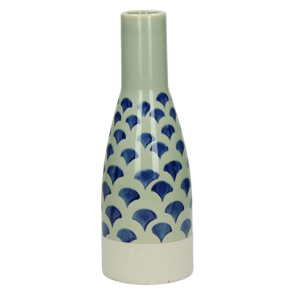 Wazon ceramiczny niebieski Domburg