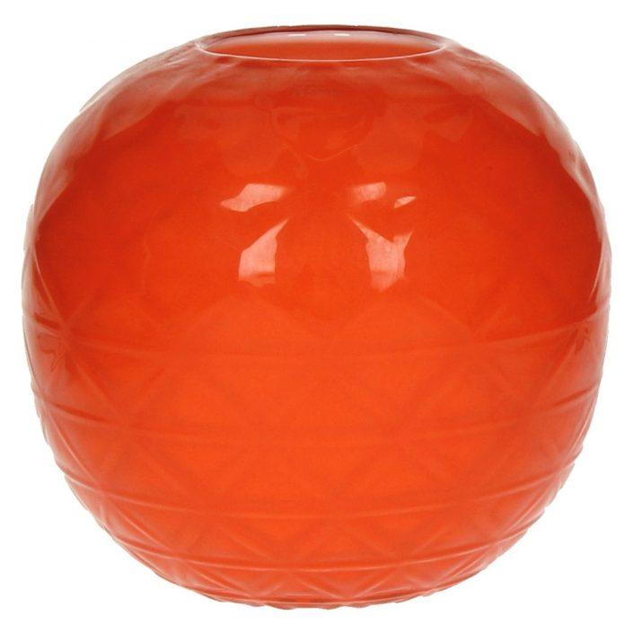Pomarańczowy wazon dekoracyjny Tinted