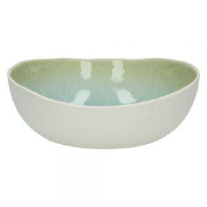 Porcelanowy talerz głęboki Porcelino Aquatic