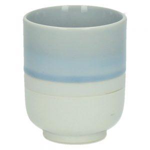 Porcelanowy kubek Meditation błękitny