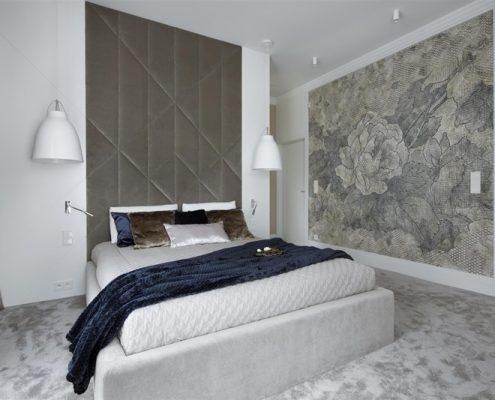 Aranżacja sypialni w popielach - Hola Design