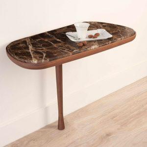 Drewniany stolik ścienny Mesita Nomon HomeSquare