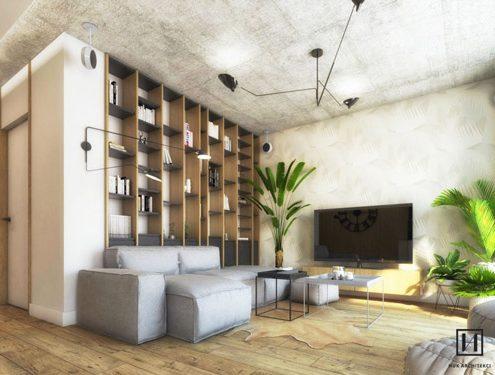 Huk Architekci projektowanie Wnętrz HomeSquare