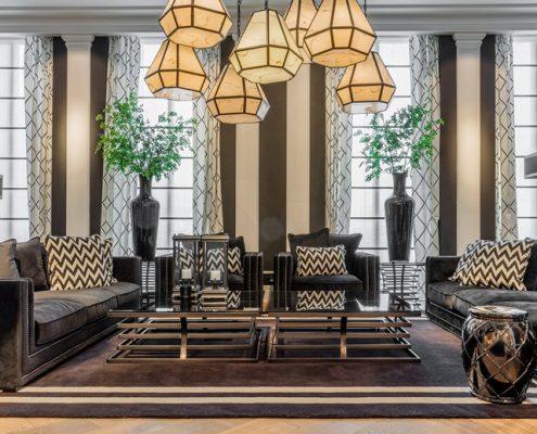 Symetria w szykownym salonie - Jasno Shutters