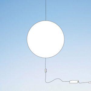 Wisząca lampa Nimbo z wtyczką Shinyshadows Smarin