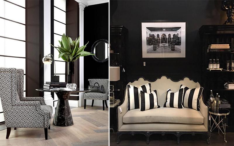 Czarno-białe wnętrza - Eicholz