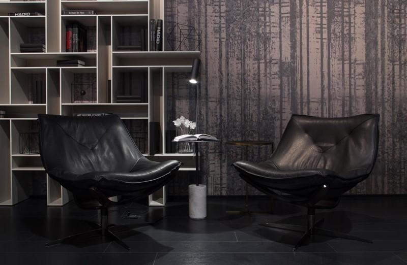 Czarno-Czarno-białe wnętrza - Roche Boboisbiałe wnętrza - Koket i Caravaggio