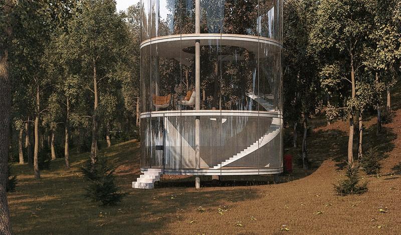 Drzewo w nowoczesnym domu - Aibeka Almassova