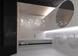 Duża łazienka przy sypialni - Concept