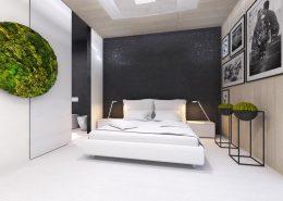 Duża sypialnia z łazienką - Concept