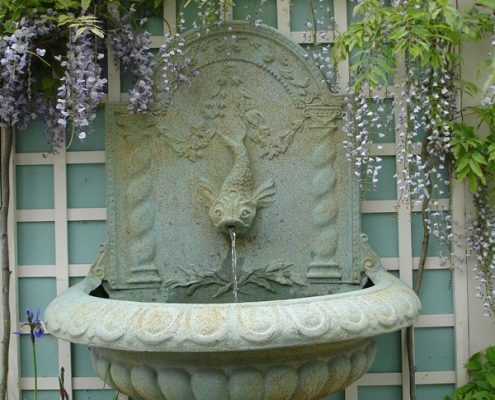 Mała fontanna na balkon i taras