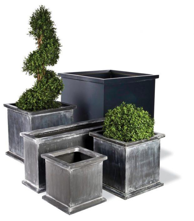 Donica ogrodowa Grosvenor Planter S 40 L 40 W 40h Capital Garden